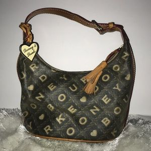 Handbags - Dooney & Bourke Signature Mini Shoulder Bag.